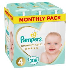 Подгузники Pampers Premium Care (9-14 кг) шт.