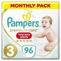 Трусики-подгузники Pampers Premium Care Pants, р. 3, 6-11 кг, 96 шт