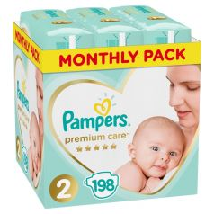Подгузники Pampers Premium Care (4-8 кг) шт.