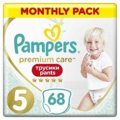 Трусики-подгузники Pampers Premium Care Pants, р. 5, 12-17 кг, 68 шт