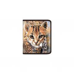 Папка на молнии А5+ Erich Krause Wild Cat