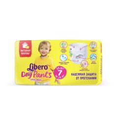 Подгузники-трусики Libero DryPants для девочек (16-26 кг) 28 шт.