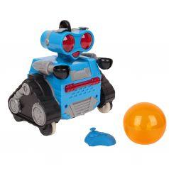 Робот на радиоуправлении Игруша , оранжевый 14 см