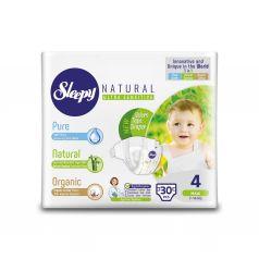 Подгузники Sleepy Natural Organic Baby Diaper Jumbo Maxi (7-14 кг) шт.