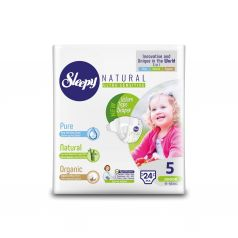 Подгузники Sleepy Natural Organic Baby Diaper Jumbo Junior (11-18 кг) шт.