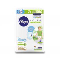 Трусики Sleepy Natural Training Pants Double Jumbo Maxi, р. 4, 7-14 кг, 60 шт