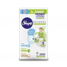 Трусики Sleepy Natural Training Pants Double Jumbo Junior, р. 5, 11-18 кг, 48 шт