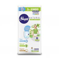 Трусики Sleepy Natural Training Pants Jumbo Extra Large, р. 6, 15-25 кг, 40 шт