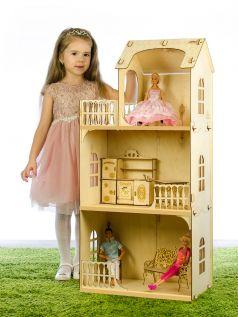 Дом для кукол Теремок Любава 102 см