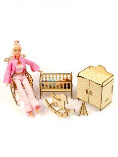 Мебель для кукол Теремок Детская