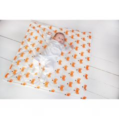 Slingme Конверт-одеяло Лисички 90 х 90 см