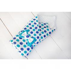 Slingme Конверт-одеяло Горошки 90 х 90 см