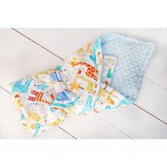 Slingme Конверт-одеяло Жирафы 90 х 90 см