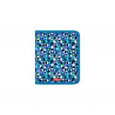 Erich Krause, Папка на молнии пластиковая Cubes, A5+