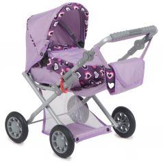 Коляска для кукол Wakart Магда Магда, фиолетовый