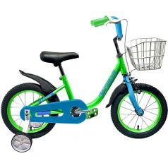 Forward, Велосипед Barrio 16 2020 зеленый