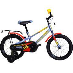 Forward, Велосипед Meteor 16 серо-голубой/красный