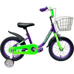 Forward, Велосипед Barrio 16 фиолетовый
