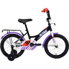Altair, Велосипед Kids 18 черный/белый