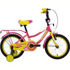 Forward, Велосипед Funky 16 желтый/фиолетовый