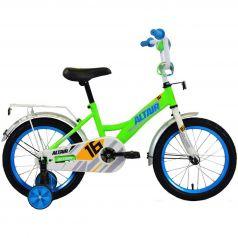Altair, Велосипед Kids 16 ярко-зеленый/синий