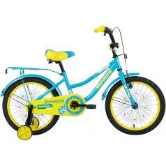 Forward, Велосипед Funky 18 бирюзовый/желтый