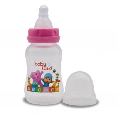 Бутылочка Baby Land, полипропилен, 0-6 мес, 150 мл