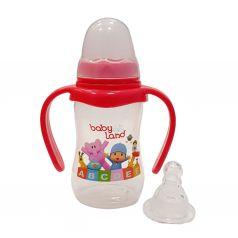 Бутылочка Babyland ортодонтическая соска с антиколиковым клапаном, полипропилен, 6-18 мес, 150 мл