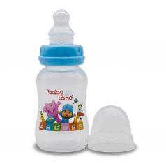 Бутылочка Baby Land ортодонтическая соска с антиколиковым клапаном, полипропилен, 6-18 мес, 300 мл
