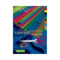 Цветной картон А4 10 Альт