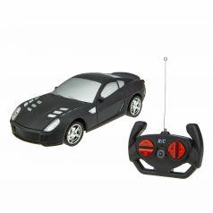 Машина на радиоуправлении 1Toy Спортавто цвет: матовый черный 20 см 1 : 24