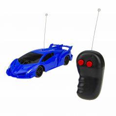 Машина на радиоуправлении 1Toy Спортавто цвет: синий 17 см 1 : 26