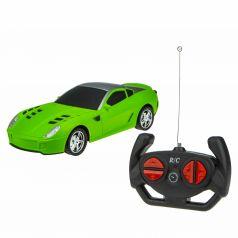 Машина на радиоуправлении 1Toy Спортавто цвет: матовый зеленый 20 см 1 : 24