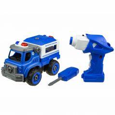 Полицейский грузовик на радиоуправлении 1Toy Экстренные службы