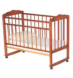 Кровать-качалка ИП Смирнов Женечка-3, цвет: светлый