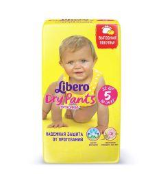 Трусики-подгузники Libero Dry Pants Size 5 (10-14 кг) 32 шт.