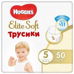 Подгузники-трусики Huggies Elite Soft, р. 5, 12-17 кг, 50 шт