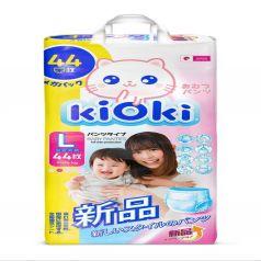 Подгузники-трусики KIOKI L (9-14 кг) 44 шт.