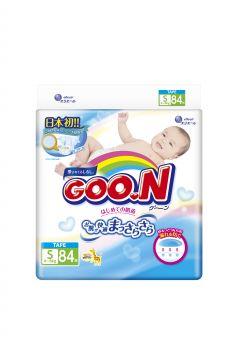 Подгузники Goon S (4-6 кг) 84 шт.