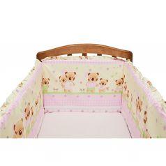 Бортик в кроватку Funecotex Мишутка и зайка