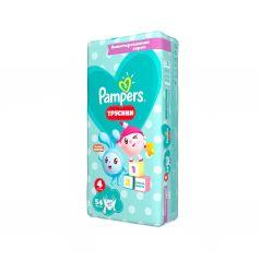 Подгузники-трусики Pampers «Малышарики», р. 4, от 9 до 15 кг, 54 шт