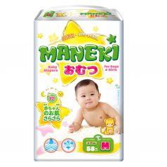 Подгузники Maneki детские одноразовые (6-11 кг) шт.