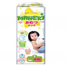 Трусики-подгузники Maneki детские одноразовые, р. 5, 15+ кг, 36 шт