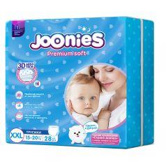 Трусики-подгузники Joonies Premium Soft, р. 5, 15-20 кг, 28 шт
