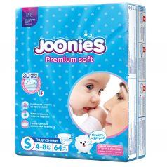 Подгузники Joonies Premium Soft (4-8 кг) шт.