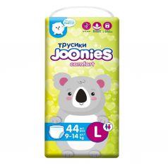 Joonies Подгузники-трусики Comfort, размер L (9-14 кг), 44 шт.