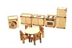 Мебель для кукольного домика ХэппиДом
