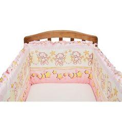 Бортик в кроватку Funecotex Сонный мишка