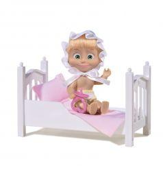 Кукла Simba Маша с кроваткой и аксессуарами