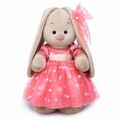 Мягкая игрушка Budi Basa Зайка Ми в розовом платье 25 см